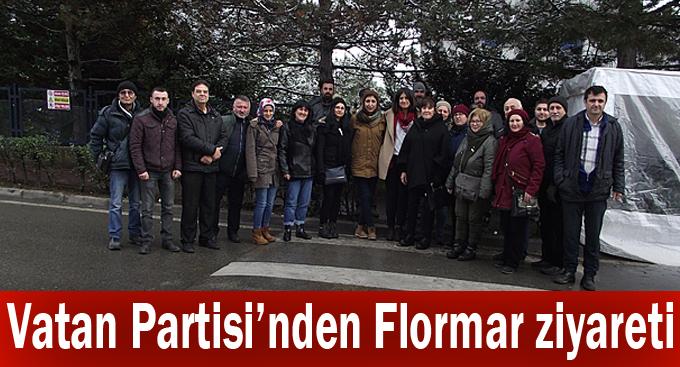 Vatan Partisi'nden Flormar ziyareti