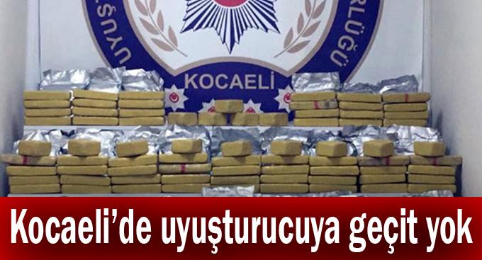 Kocaeli'de uyuşturucuya geçit yok!