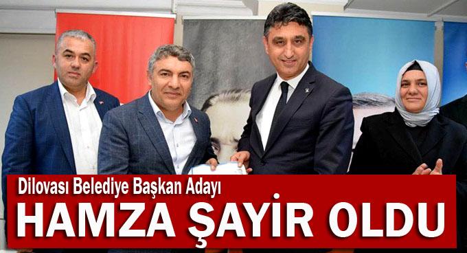 AK Parti'nin Dilovası adayı Hamza Şayir oldu