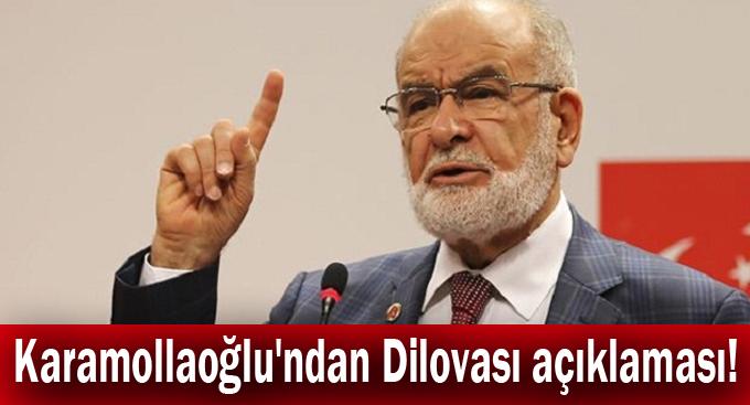 Karamollaoğlu'ndan Dilovası açıklaması!