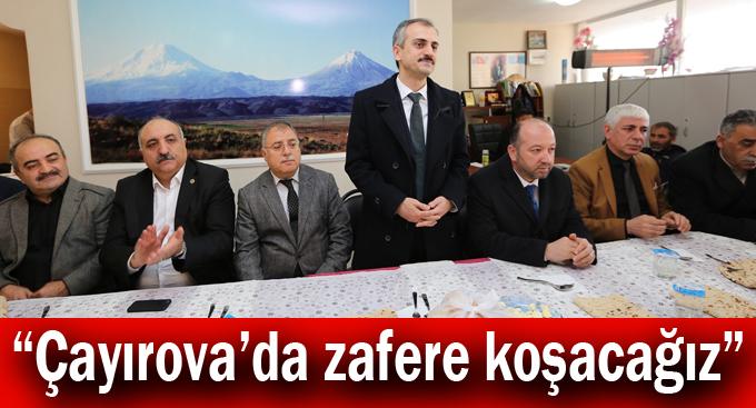 """Çiftçi,""""Çayırova'da zafere koşacağız"""""""