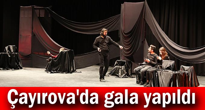 Çayırova'da gala yapıldı