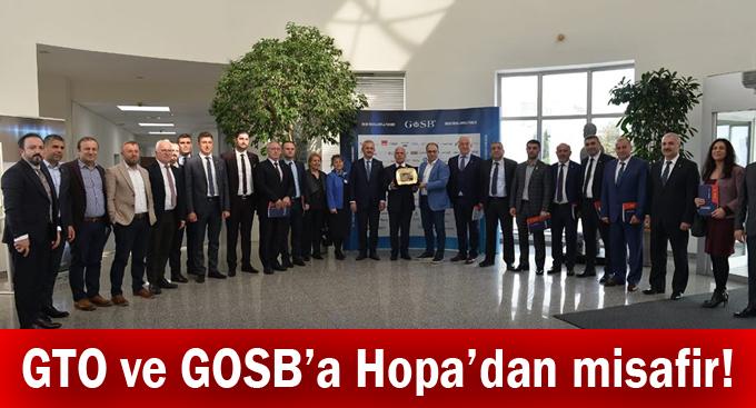 GTO ve GOSB'a Hopa'dan misafir!