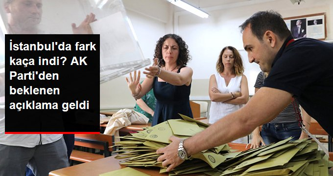 AK Parti'den Açıklama; Fark 19 Bine İndi