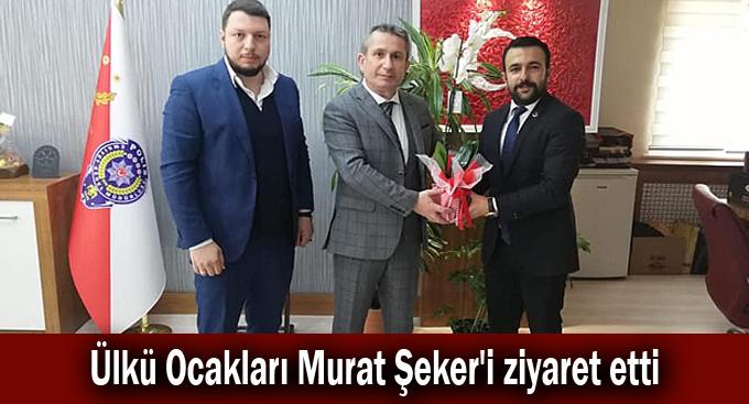 Ülkü Ocakları Murat Şeker'i ziyaret etti