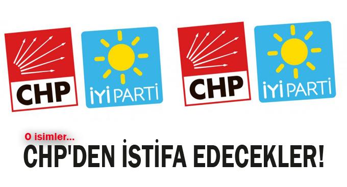 CHP'den İstifa Edecekler!