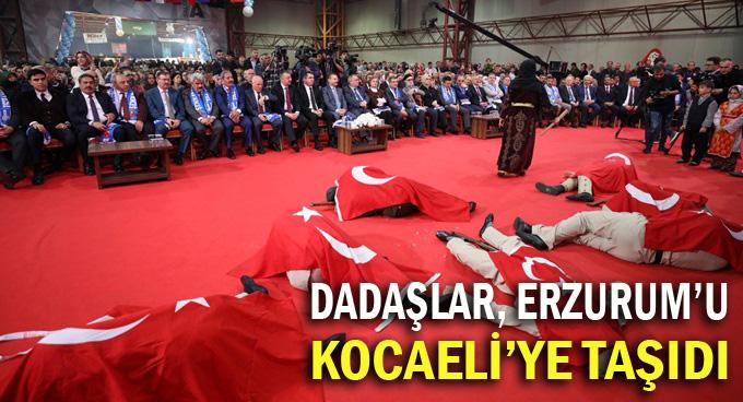 Dadaşlar, Kocaeli'de buluştu