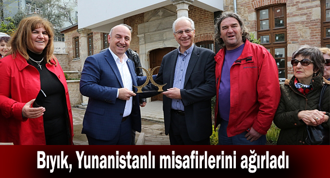 Bıyık, Yunanistanlı misafirlerini ağırladı