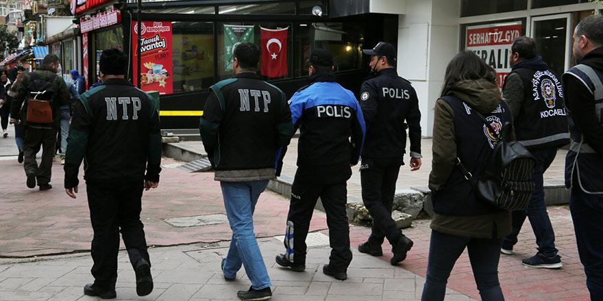 Kocaeli'de aranan 8 kişi yakalandı
