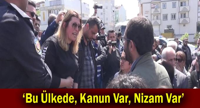 HDP'li Milletvekili Gebze'ye geldi!