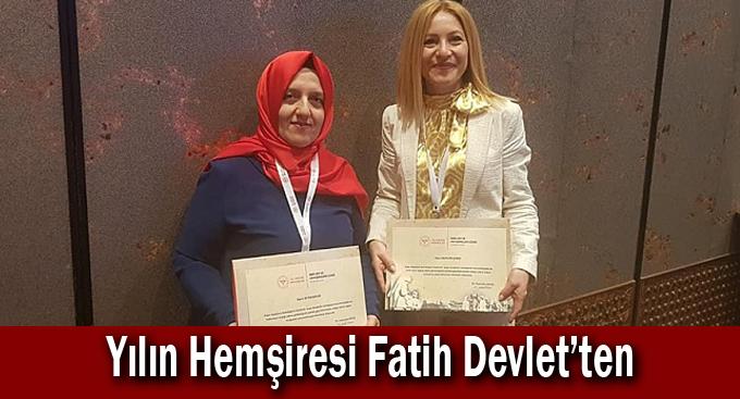 Yılın Hemşiresi Fatih Devlet'ten