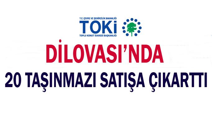 TOKİ, Dilovası'nda 20 taşınmazı satışa çıkarttı