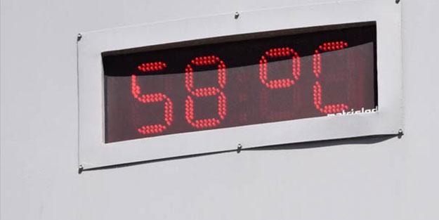 Burası Türkiye! Termometreler 58 dereceyi gördü