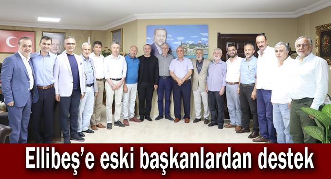 Ellibeş'e eski başkanlardan destek