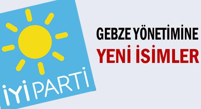 İYİ Parti Gebze'ye yeni yönetim!