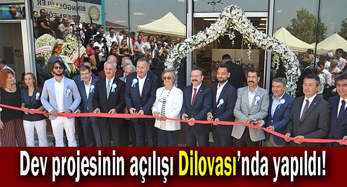 Dev projenin açılışı Dilovası'nda açıldı!