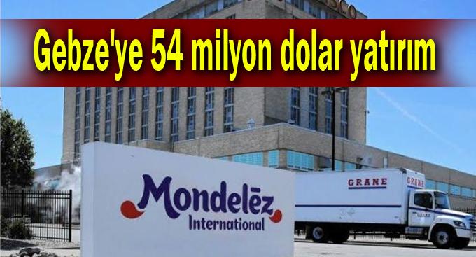 Gebze'ye 54 milyon dolar yatırım
