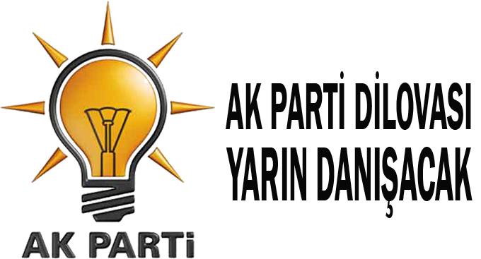 AK Parti Dilovası yarın danışacak!