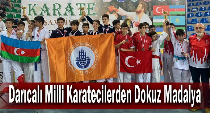 Darıcalı Milli Karatecilerden Dokuz Madalya