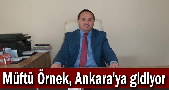 Müftü Örnek, Ankara'ya gidiyor