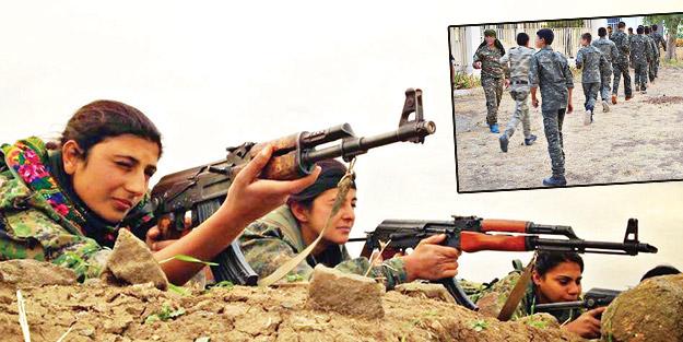 YPG yine çocukları kalkan yapıyor