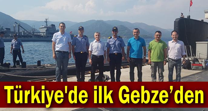 Türkiye'de ilk Gebze'den
