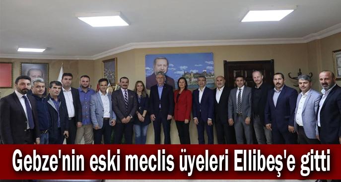 Gebze'nin eski meclis üyeleri Ellibeş'e gitti
