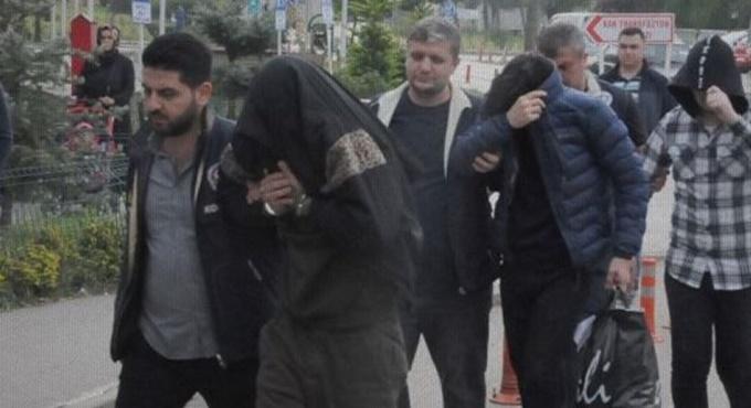 Siber çete üyeleri tutuklandı