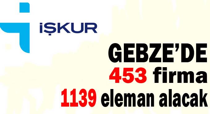 Gebze'de 453 firma 1139 eleman alacak