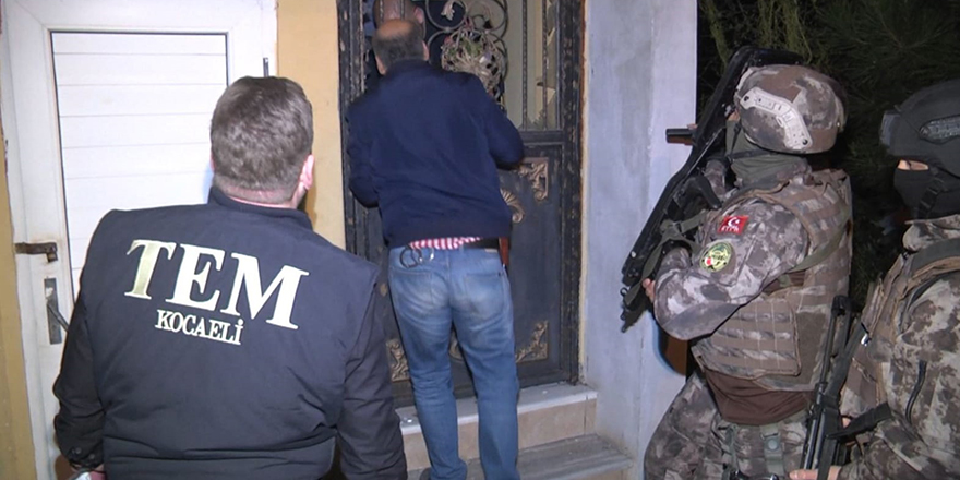 DEAŞ'a Kocaeli'de şafak operasyonu: 4 gözaltı