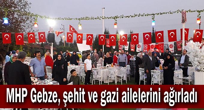 MHP Gebze, şehit ve gazi ailelerini ağırladı