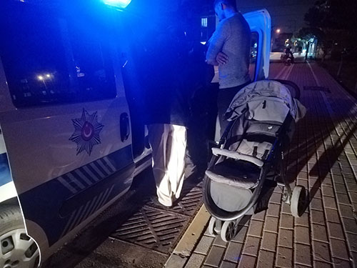 Alkollü sürücü aileye çarpıp kaçtı!