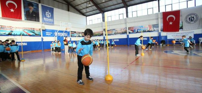 32 bin 500 çocuk, sporla tanışacak