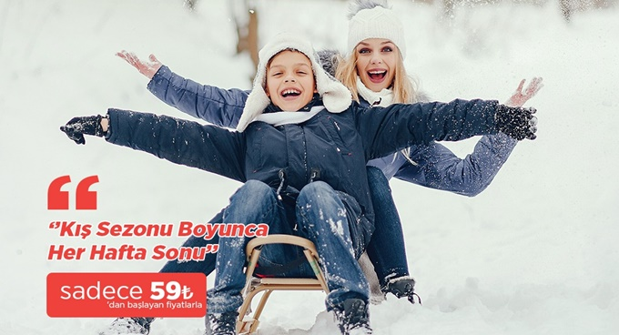 Kışınızı Turluyoruz Turizmle keyifli hale getirin