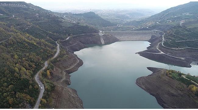 Yuvacık Barajı yüzde 18'de