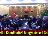 AK Parti İl Koordinatörü kongre öncesi Gebze'de