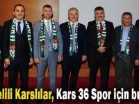Kocaelili Karslılar, Kars 36 Spor için buluştu