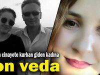 Darıca'da cinayete kurban giden kadın toprağa verildi!