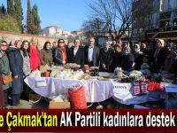 Çiftçi ve Çakmak'tan AK Partili kadınlara destek ziyareti
