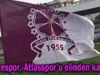 Gebzespor, Atlasspor'u elinden kaçırdı