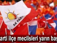 AK Parti ilçe meclisleri yarın başlıyor