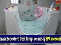 0-36 Ay arası Bebeklere Özel Terapi ve masaj SPA merkezi  Açılıyor