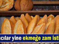 Fırıncılar yine ekmeğe zam istiyor!