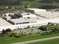 Hyundai fabrikasında üretim duruyor