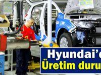 Kocaeli Hyundai'de üretim duruyor!