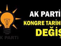 AK Parti'de ilçe kongre tarihleri değişti
