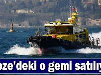 TÜBİTAK Rumeli Araştırma Gemisini satıyor!