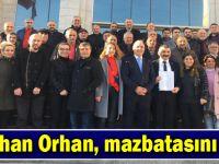 Gökhan Orhan, mazbatasını aldı