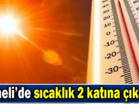 Kocaeli'de sıcaklık 2 katına çıkacak
