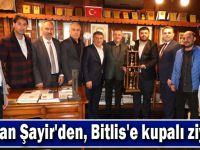 Başkan Şayir'den, Bitlis'e kupalı ziyaret